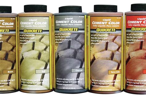 stucco color chart quikrete liquid color additive
