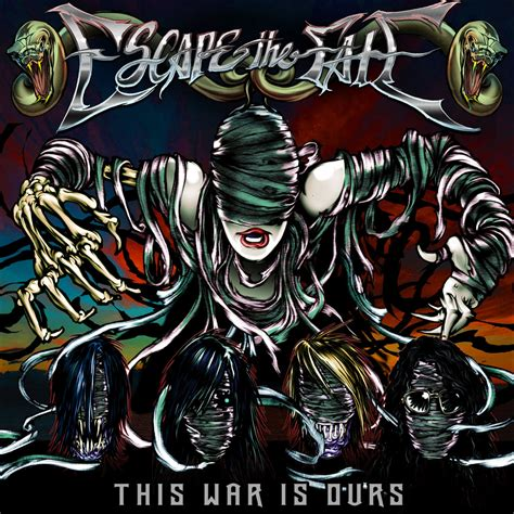 escape the fate this war is ours epitaph records