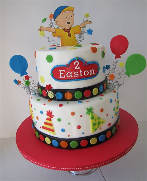 Birthday Cake by Caillou Birthday Cakes Decoration Ideas