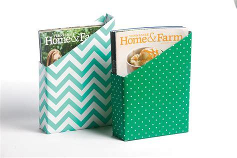card holder cereal box diy cereal box magazine holder