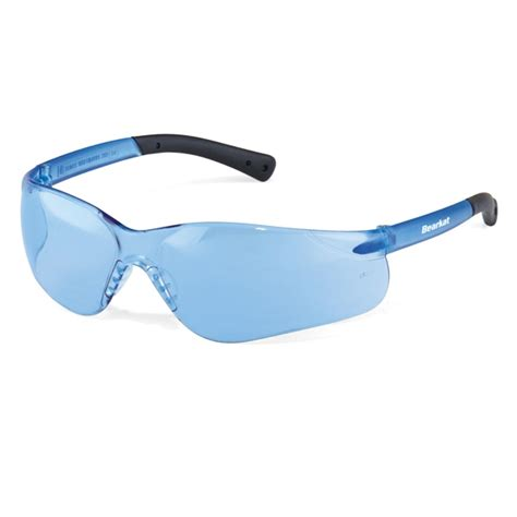 blue light protection glasses crews bearkat 3 safety glasses blue temples light blue