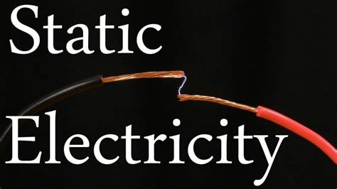 static electricity electrostatic hazards
