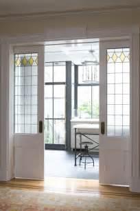 Dutch revival row house in brooklyn heights sliding pocket doors