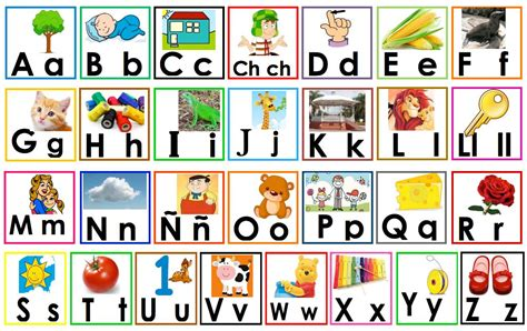imagenes que empiecen con las letras del abecedario alfabeto en im 225 genes material educativo