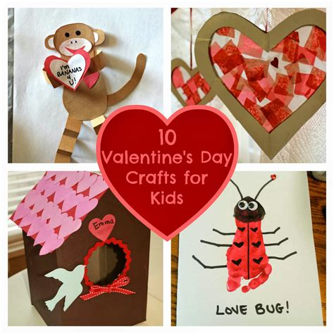 valentines day craft for 10 s day crafts for home things