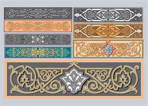 jugendstil ornamente der kostenlosen vektor - Ornamente Jugendstil