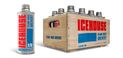 ice house edge icehouse beer packaging on behance