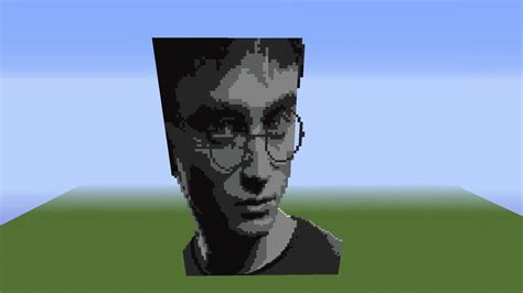 minecraft harry potter pixel