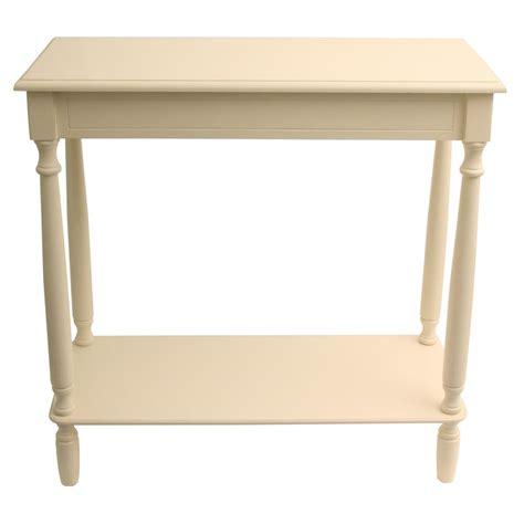Antique White Console Table Decor Therapy Rectangular Antique White Console Table Fr1802 The Home Depot