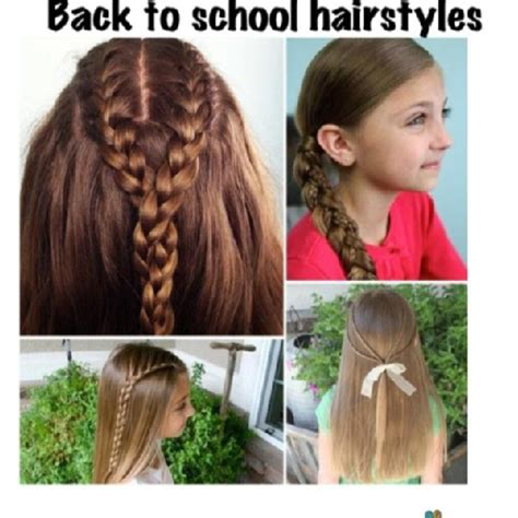Day Of School Hairstyles by Day Of School Hairstyle 142327 Back To School Hairs