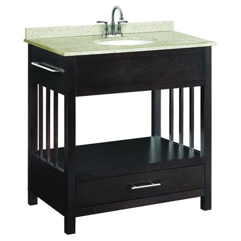 design house ventura vanity design house ventura 30 in w x 21 in d console unassembled vanity cabinet only in espresso