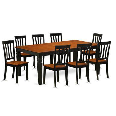 rent    piece dining set   logan dining table