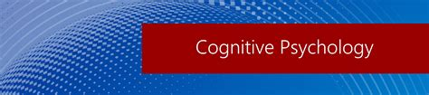 cognitive psychology overview