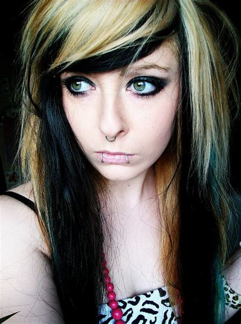 emo hairstyles for long blonde hair emo hairstyles beautiful hairstyles