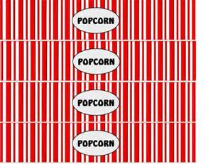 Popcorn Wrapper Template Free by 6 Best Images Of Free Printable Popcorn Signs Printable
