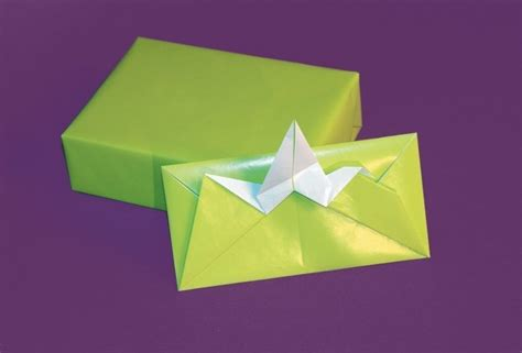 Flapping Bird Envelopes 183 Extract From Trash Origami By