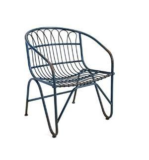 retro metal chairs coupon retro blue chair