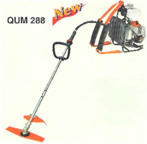 Mesin Potong Rumput Qum 288 mesin alat pertanian mesin potong rumput brush
