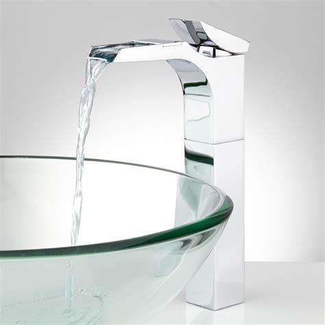 Waterfall Faucets by Broeg Waterfall Vessel Faucet Bathroom