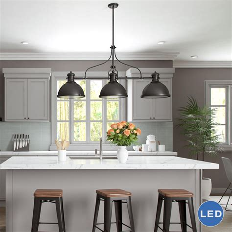 Vonnlighting Dorado 3 Light Kitchen Island Pendant Pendant Light Kitchen Island
