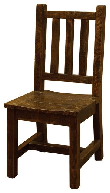 Rustic Dining Chairs Wood Shop Houzz Furniture Barn Usa Rustic Barn Wood Style Timber Peg Dining Chair Dining Chairs