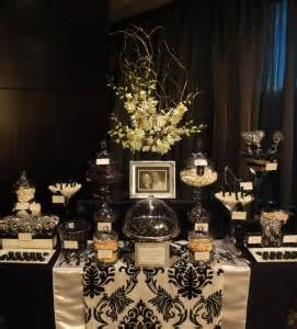black and white buffet black and white lolly buffet photo by sweet buffets