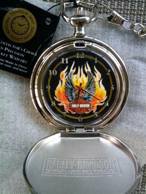 Harley Davidson Pocket Watches by Franklin Mint Hd Pocketwatch Harley Davidson Forums