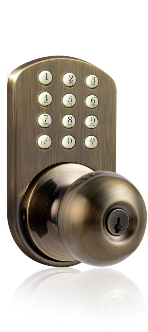Keyless Door Knobs by Milocks Tkk 02 Keyless Entry Knob Door Lock With