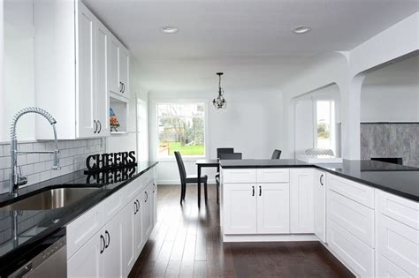 Black Quartz Kitchen Countertops by Black Quartz Countertops Black Quartz Kitchen