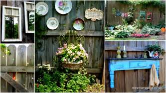 Backyard Wall Decorating Ideas Get Creative With These 23 Fence Decorating Ideas And