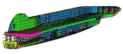 aluminium catamaran hull thickness strand7 case study analysis of an 80m high speed catamaran