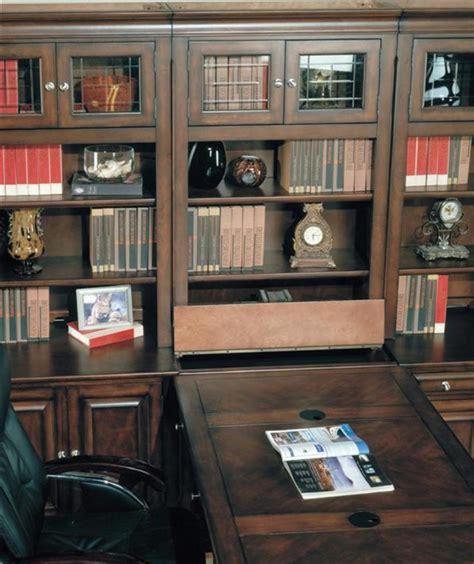 sterling  piece peninsula desk home office set