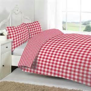 Red Check Duvet Cover Linens Limited Large Tonal Gingham Duvet Cover Set Ebay