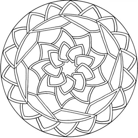 mandala coloring pages pinterest simple mandala coloring pages mandala pinterest
