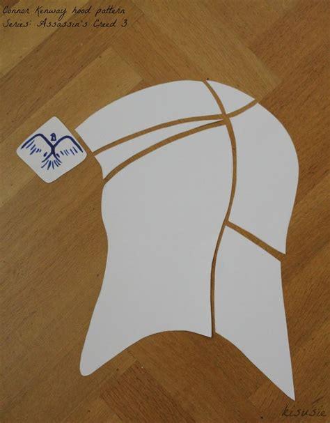 hood pattern shape 30 best costume refs for edward kenway images on pinterest