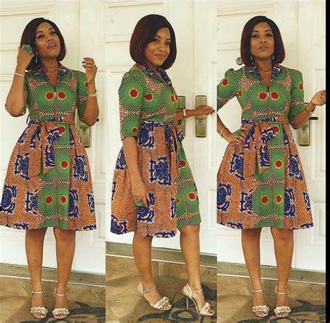 long and short ankara dresses beautiful ankara asoebi short long gowns image nigeria