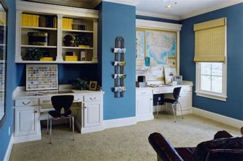 home office color schemes to create a working environment home office paint colors ideas