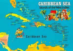 my favorite views caribbean sea map islands of the west