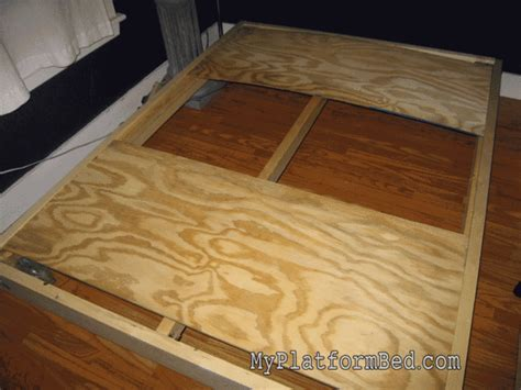 how to build platform bed strong and tough platform bed diy 7