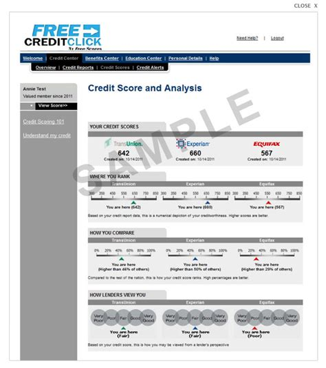 Sle Credit Line Application Credit Bureau Report Sle 51 Images Credit Report Sle Credit Report Equifax Credit Credit