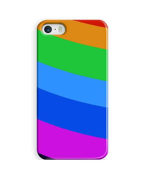 iphone 5s colors artifa colors rainbow back cover for apple iphone 5s