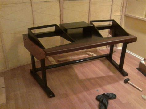 diy studio desk plans pdf diy diy recording studio desk plans diy