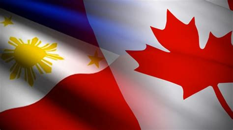 Canada Gives P32 M Aid For Mindanao Evacuees Philippines Canada Flag