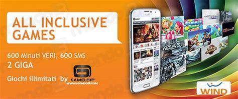 wind mobile opinioni all inclusive wind giochi gameloft illimitati