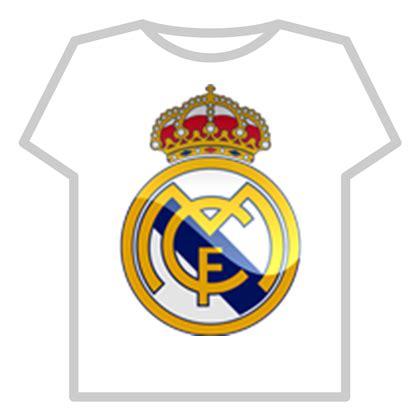 Tshirt Real real madrid t shirt roblox