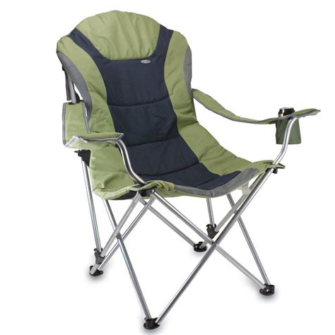 Folding Reclining Chairs by Reclining C Chair Green Picnic Time 803 00 130