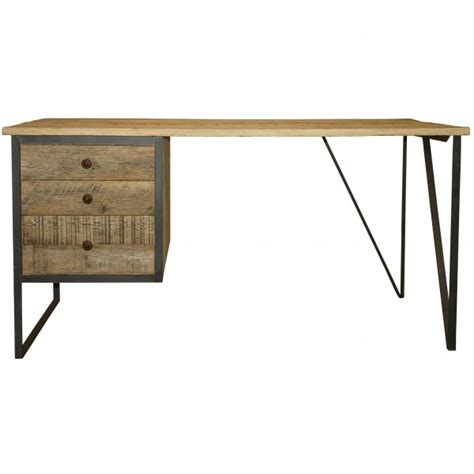 metal wood desk cfc reclaimed metal wood desk