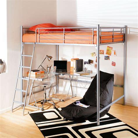 lit mezzanine 2 places avec bureau but bureau id 233 es de
