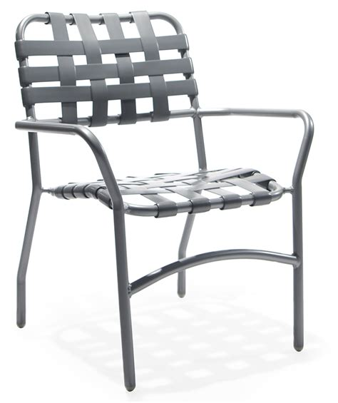 sa 53cw stacking dining arm chair aluminum