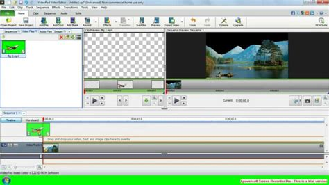 videopad tutorial green screen how to crieate videopad video editor green screen effect